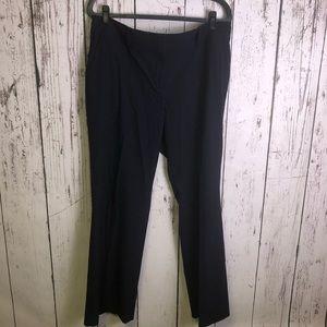 ANN TAYLOR Navy Dress Slacks Pants Career 14